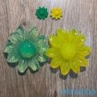 Фигурный гидрогель в форме цветка