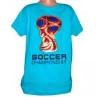Футболка с пайеткой кубок мира по футболу