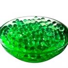 Гидрогелевые шарики зеленые