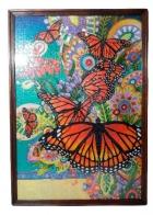 Картина из пазлов Бабочки