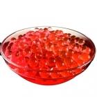 Гидрогелевые шарики красные