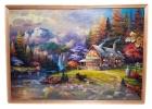Картина из пазлов Домик в горах
