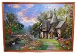 Картина из пазлов Замок