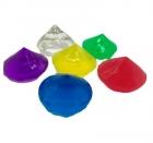 Фигурный гидрогель в форме кристаллов